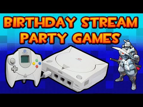 Birthday Party Stream - Sega Dreamcast & Windjammers