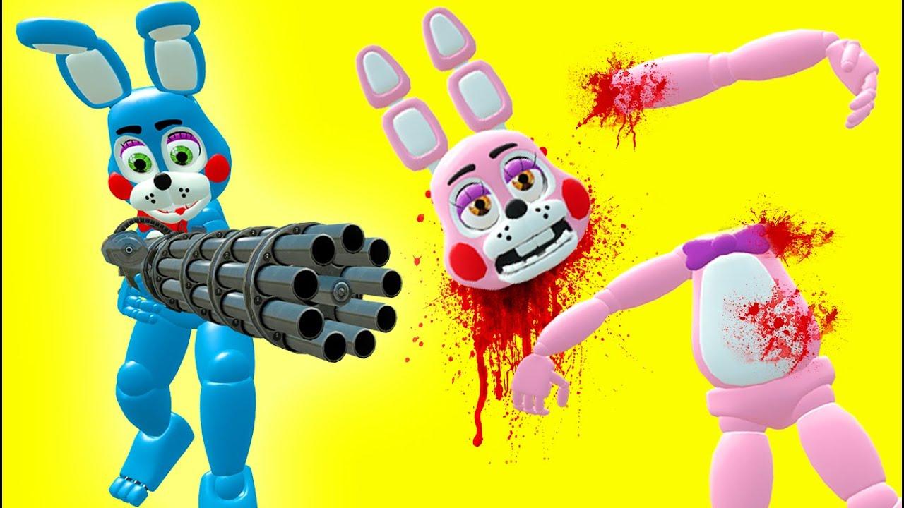 Toys For Sisters : Toy bonnie kills his sister gmod fnaf sandbox funny