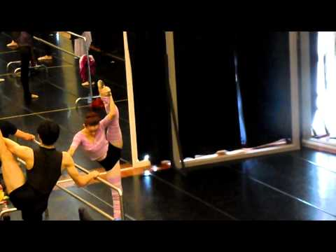 Chamber Ballet Taipei, Master class open day 23/7/2012