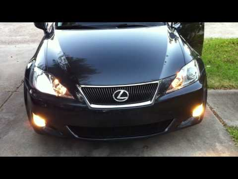 lexus is250 hid turns on then off - faulty bulb or bad ballast ... 2007 lexus is250 headlight fuse  youtube