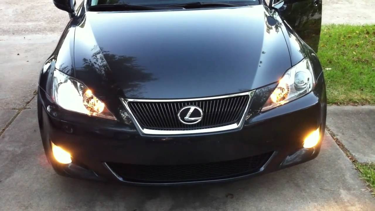 Lexus Is250 Hid Turns On Then Off Faulty Bulb Or Bad