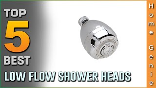 Top 5 Best Low Flow Shower Heads Review in 2021   Most popular ones