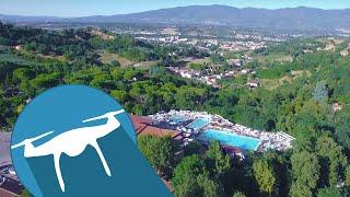 CAMPING NORCENNI GIRASOLE CLUB BY DRONE - Tuscany, Italia