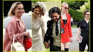 Tribute to Kit Harington & Rose Leslie Wedding | Jon Snow and Ygritte Marraige
