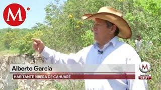 Riesgo por mina de cal en Chiapas