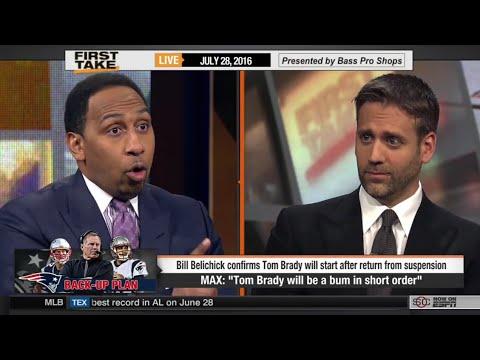 "Max Kellerman: ""Tom Brady Will Be A Bum In Short Order"" (SAS Rant)"