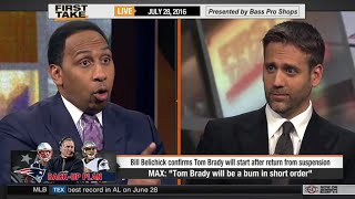 "Max Kellerman: ""Tom Brady Will Be A Bum In Short Order"" (SAS Rant)"