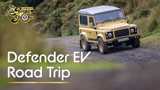EV Land Rover Defender Road Trip