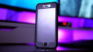 ZAAP VAULT iPHONE6/6S CASE + BUILT-IN CLEAR SCREEN PROTECTOR(2-1 COMBO)