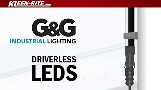 G&G Driverless Direct-AC LED Lighting Installation