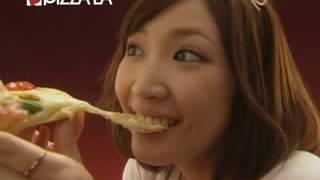 サエコ ピザーラ とろ~りチーズのよくばりピザ かけチーズ篇.