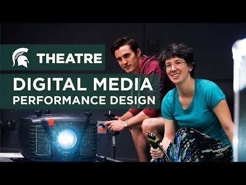 Digital Media Performance Design in Theatre - Alison Dobbins
