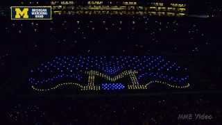 """PixMob"" - October 11th, 2014 - The Michigan Marching Band"