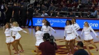 trojancandy.com: The USC Song Girls Perform at the USC Men's Basketball Game vs. Washington