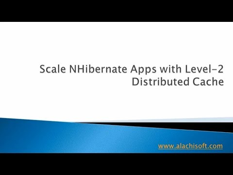 Scale NHibernate Apps with Level-2 Distributed Cache