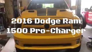 ProCharger Supercharger on 2016 Ram 1500
