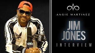 Jim Jones Speaks Talks Arrest + Challenges 50 Cent To A Boxing Match