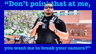 epic-angry-man-gets-put-in-check-say-s-he-ll-take-my-camera-1st-amendment-audit-must-see