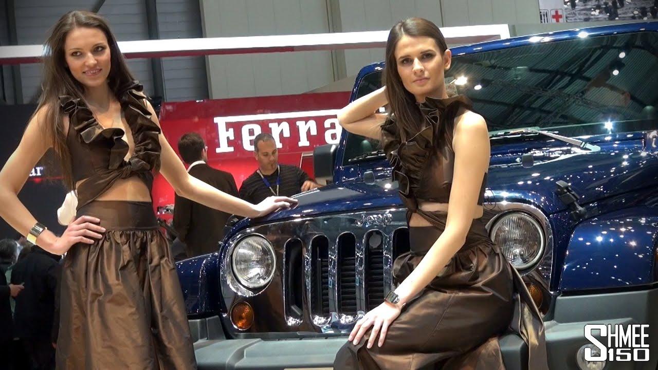 Girls Of The 2013 Geneva Motor Show Youtube