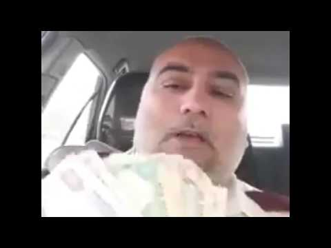 UAE taxi driver donating 230 dirham on dam fund raising