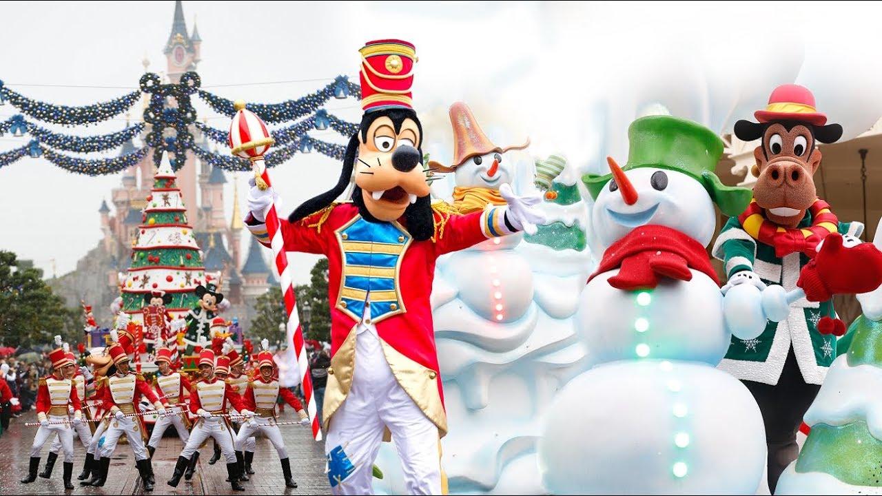 Christmas Is Here.Christmas Is Here Soundtrack Disney S Christmas Parade 2017 Disneyland Paris