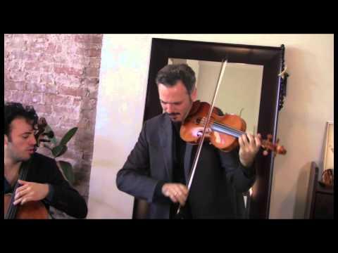 """Brooklyn Rider plays """"Federico II"""" by Giovanni Sollima"""