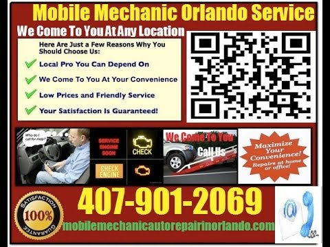 Mobile Mechanic Orlando FL 407-901-2069 Auto Car Repair Service