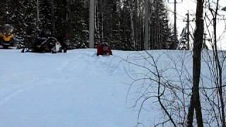yamaha nytro xtx заполз до снегохода