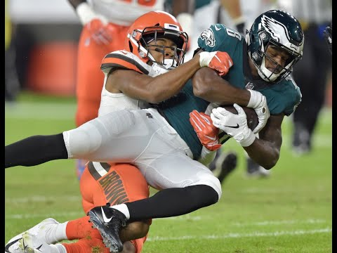 Philadephia Eagles WR Shelton Gibson experiences Cleveland homecoming (video)