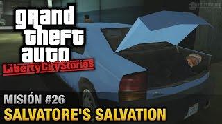 GTA Liberty City Stories - Misión #26 - Salvatore's Salvation (Español / Sin Comentario - PCSX2)