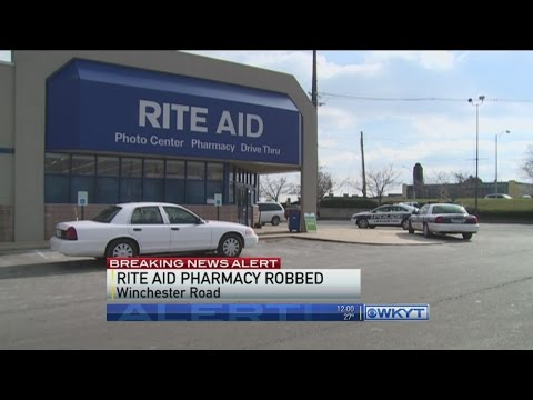 Man robs Rite Aid pharmacy in Lexington
