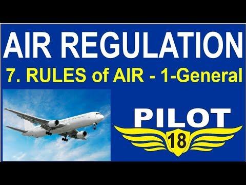 Air Regulation 7 -Rules of the Air (1) -DGCA Pilot training