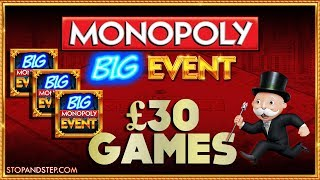 Monopoly Big Event £30 GAMES!! + Inside an American Slot Machine !