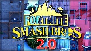 Super Smash Bros Fortnite MAP 2.0 | Fortnite Kreativmodus