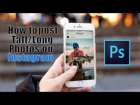 How to make pictures fit instagram profile pic