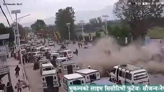 Impactantes imágenes del terremoto en Nepal