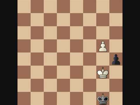 P.L. Chess Endgame Course #34 Triangulation / opposition Practical examples