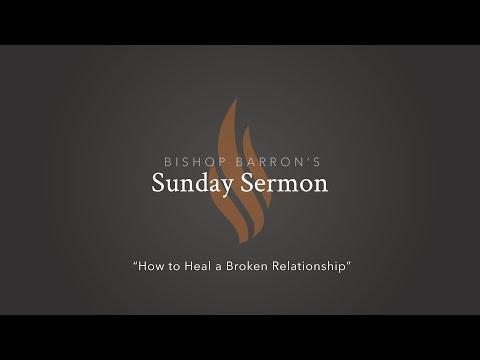 How to Heal a Broken Relationship — Bishop Barron's Sunday Sermon