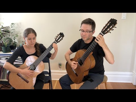 Vol. 2 Method Duets: Romance by Küffner & Star of County Down for Classical Guitar