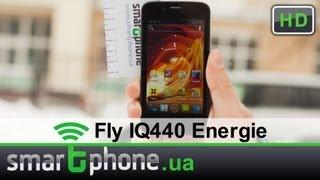 Видео обзор Fly IQ440 Energie