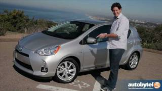 2012 Toyota Prius c Test Drive & Hybrid Car Review