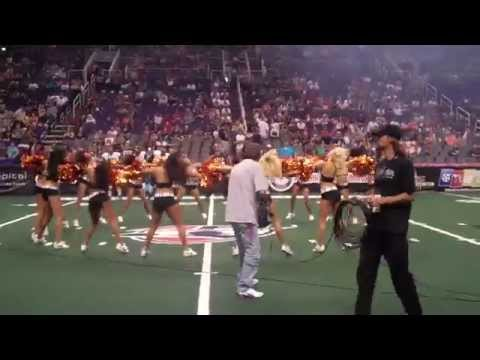 Arizona Rattlers Sidewinders Dancers PreGame Routine