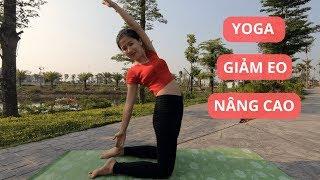 YOGA GIẢM MỠ BỤNG LÀM SĂN VÒNG EO NÂNG CAO | Yoga Sống Khoẻ Quảng Ngãi