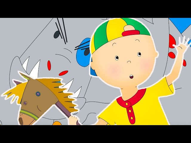 Caillou and the Dragon   Funny Animated cartoons Kids   WATCH ONLINE    Cartoon for Children