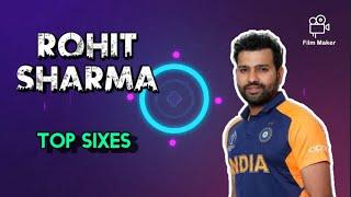 Rohit Sharma Top Sixes    Rohit Sharma Shots    Longest Sixes In Indian History    Rohit Sharma