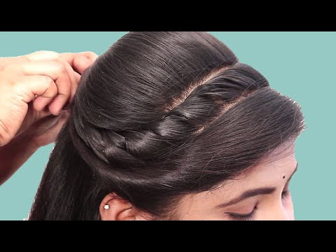 Easy and Quick Braided Hairstyle for College Girl || Everyday Hairstyles for Girls 2019 thumbnail