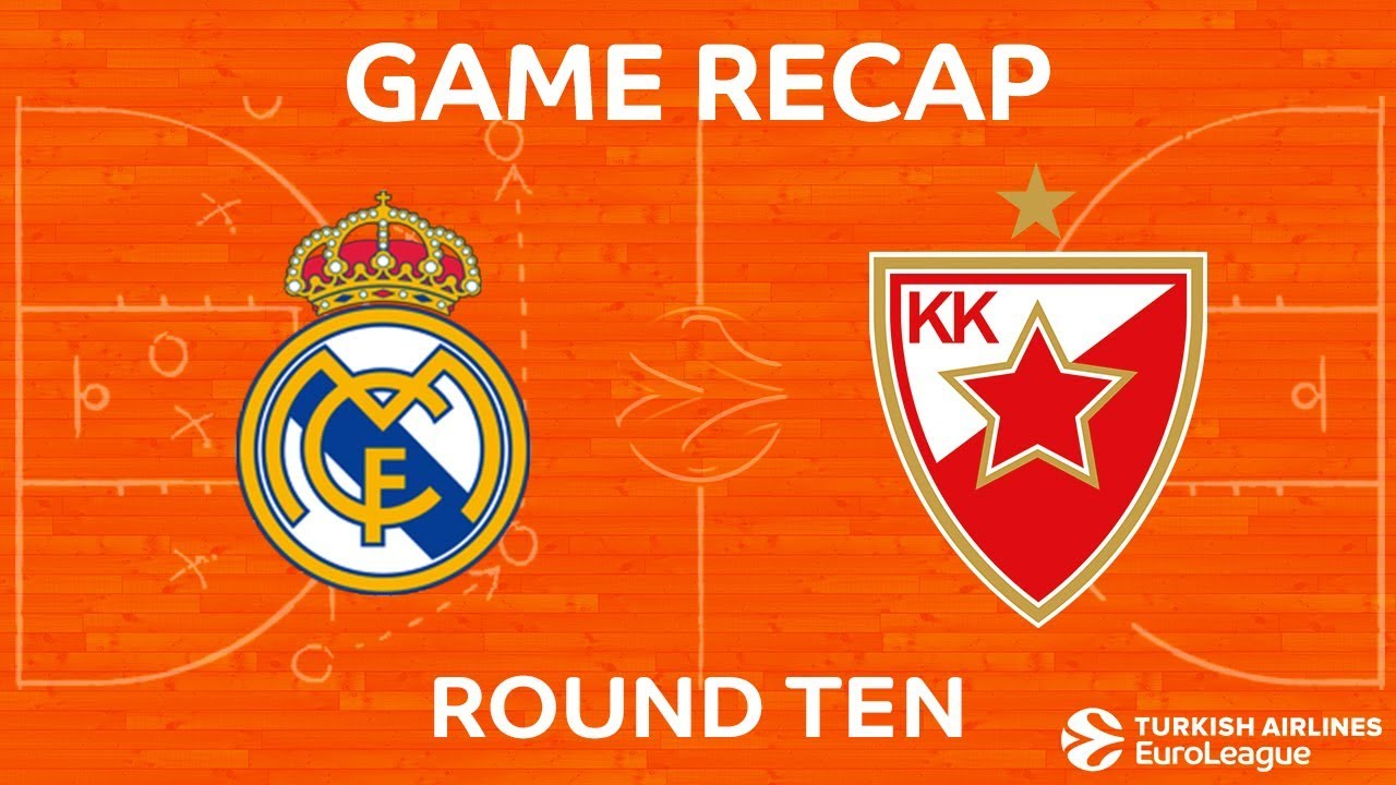 Highlights Real Madrid Crvena Zvezda Mts Belgrade