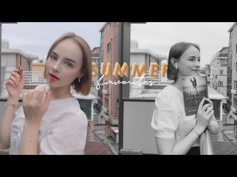 MY SUMMER FAVORITES ☀️ Beauty, Fashion, Skincare & Books !! | Sissel thumbnail