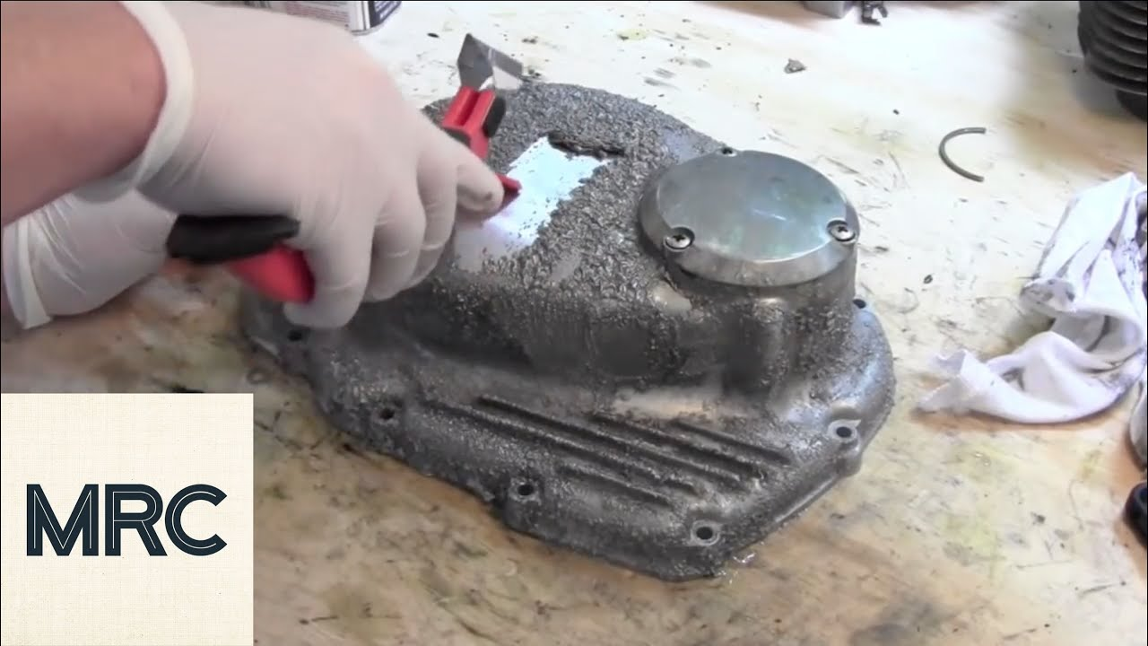 how to paint a motorcycle engine cover - youtube