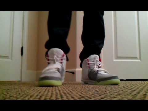 Nike Air Yeezy 2 Grey Solar Red Platinum